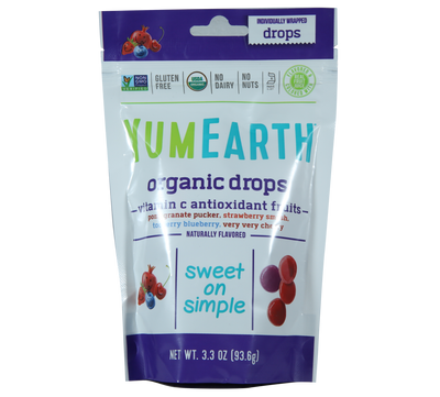 Natural Efe | YUMEARTH | Organic Drops - Vitamin c Antioxidant Fruits