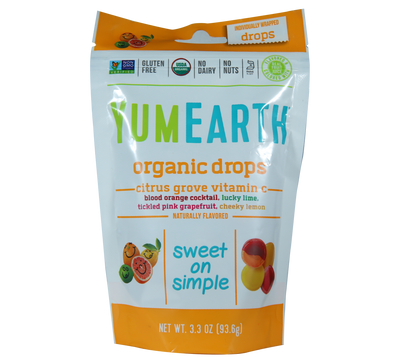 Natural Efe | YUMEARTH | Organic Drops - Citrus grove vitamin c