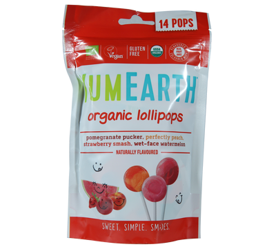 Natural Efe | YUMEARTH | Organic Lollipops