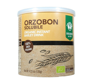 Natural Efe | Probios Orzobon Solubile | Organic Instant Barley Drink