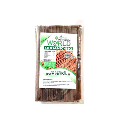 Organic / Bio Raw Buckwheat Noodles