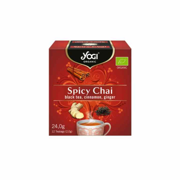 Spicy Chai Yogi Tea