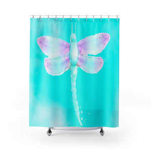 Kindness (Dragonfly) Shower Curtain