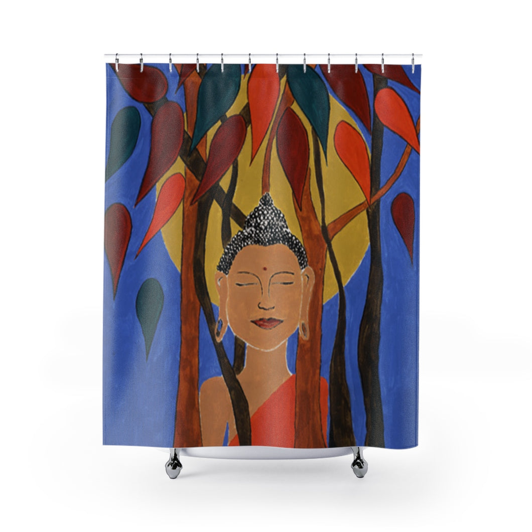 Compassion (Buddha) Shower Curtain