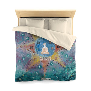 Abundance (Be Here Now) Microfiber Duvet Cover