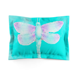 Kindness (Dragonfly) Microfiber Pillow Sham