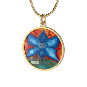 Go with the Flow OM Necklace