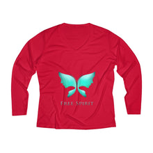 Women's Long Sleeve Performance V-neck Tee
