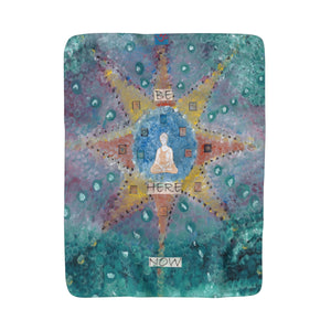 Abundance (Be Here Now) Sherpa Fleece Blanket