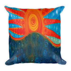 Cheerfulness Square Pillow