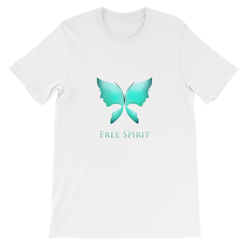 The Free Spirit Short-Sleeve Unisex T-Shirt