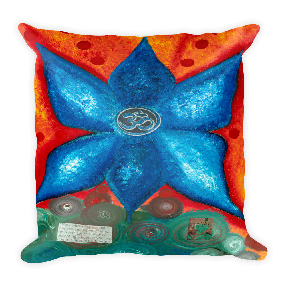 Relaxation Square Pillow