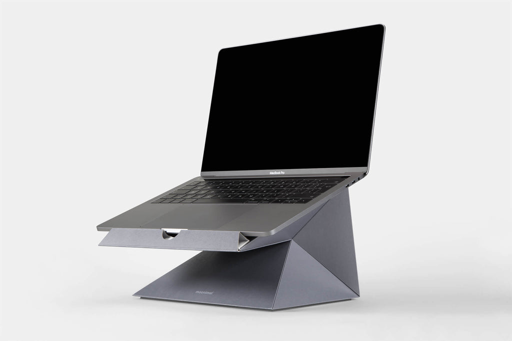 Cardboard Macbook stand