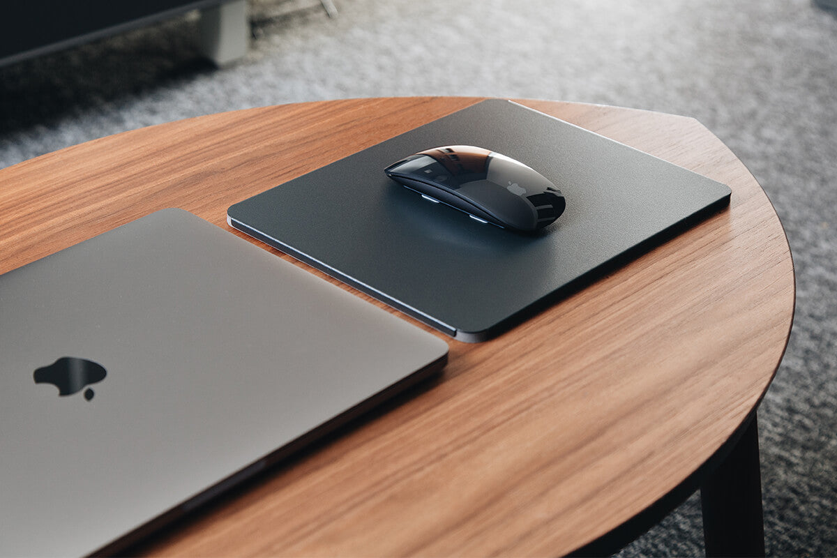 Gray mousepad for Magic Mouse