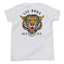 Load image into Gallery viewer, Kids Lee Bros Tiger T (White)