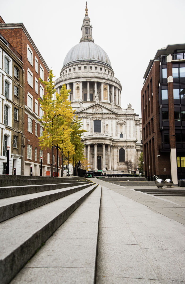 London - St Pauls - Steps