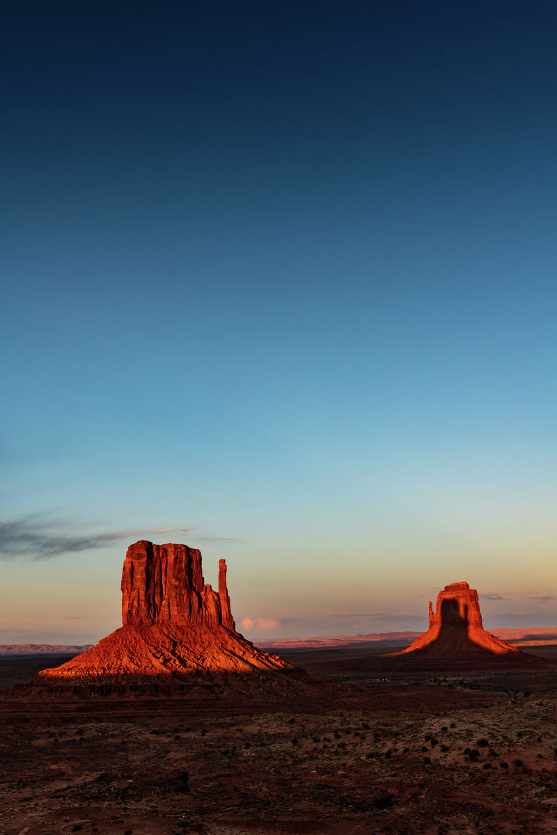 Utah - Monument Valley - East Mitten - portrait