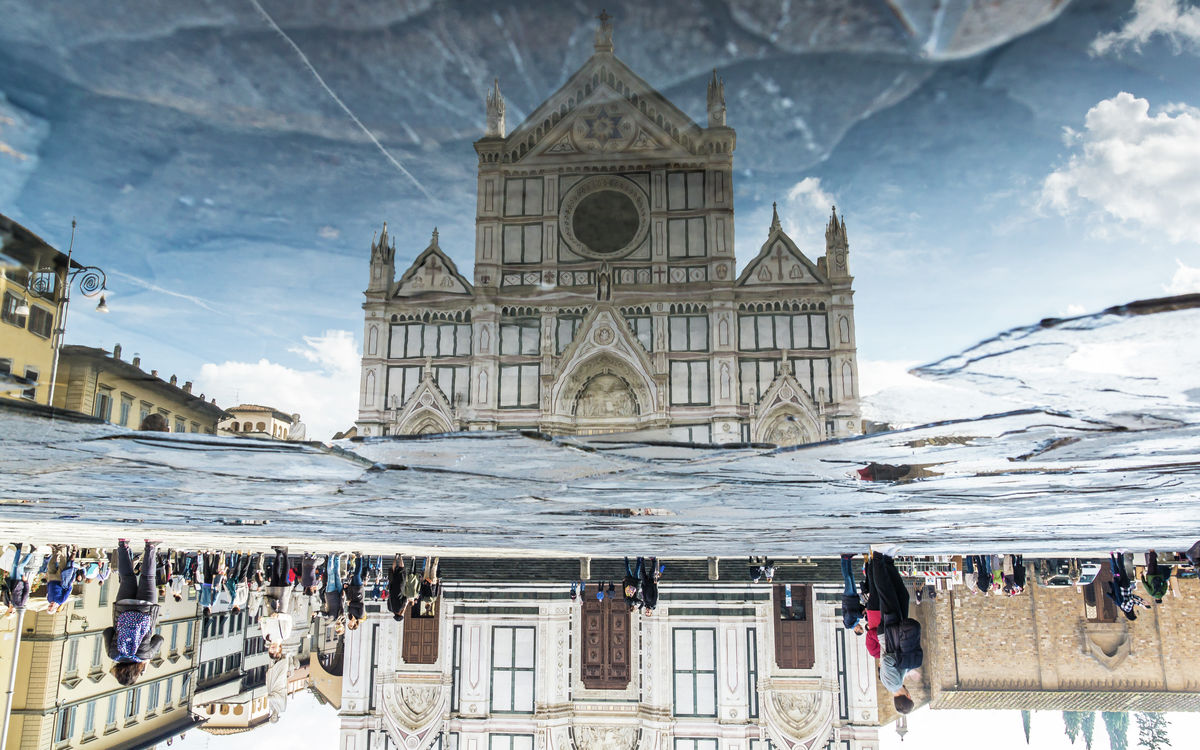 Italy - Florence Reflection