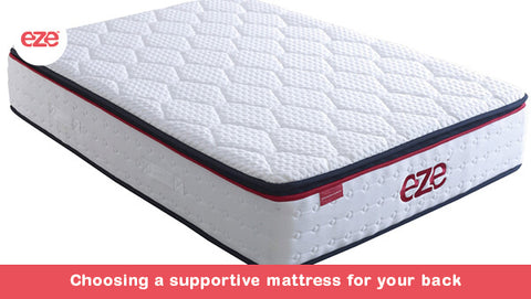 Choosing a Supportive Mattress For Your Back