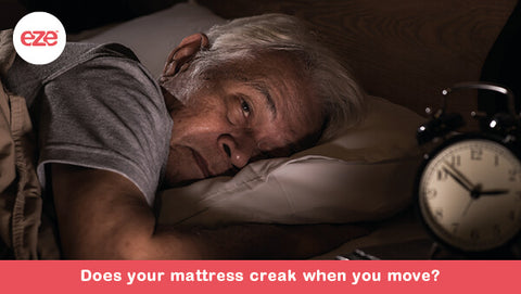 Does Your Mattress Creak When You Move?