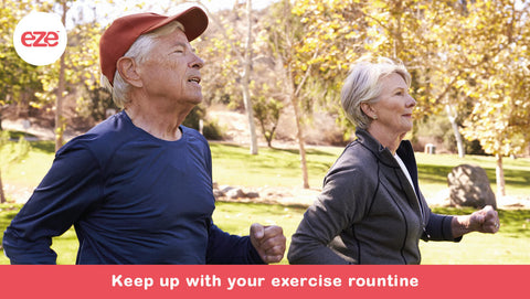 Keep Up With Your Exercise Routine