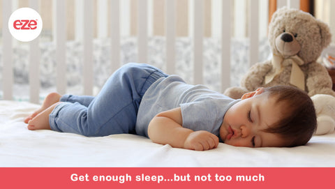 Get Enough Sleep, But Not Too Much