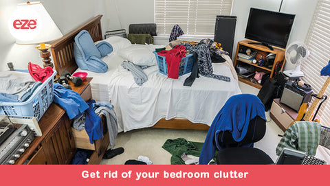 Get Rid of Your Bedroom Clutter