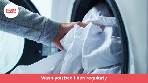 Wash Your Bed Linen Regularly