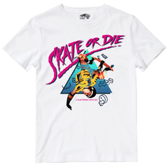 Skate or Die Officially Licensed Tee by Seven Squared with all profits to Safe In Our World