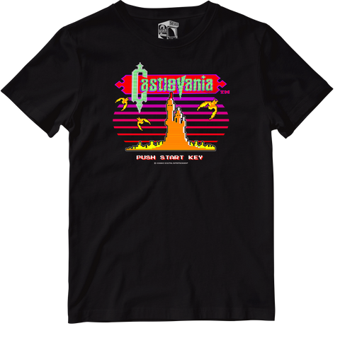 Seven Squared X Urban Officially Licensed Castlevania Tee #KeepingTheGameAlive