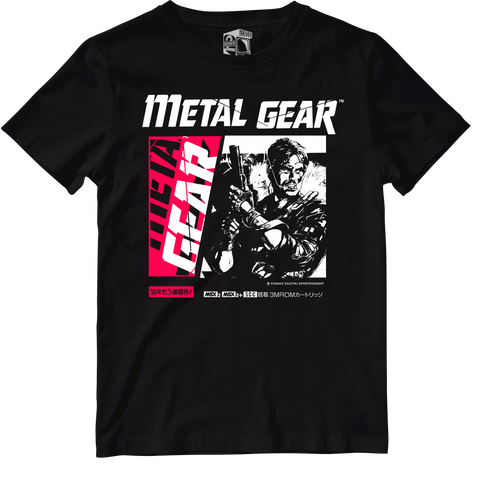 Seven Squared X Urban Officially Licensed Metal Gear Tee #KeepingTheGameAlive