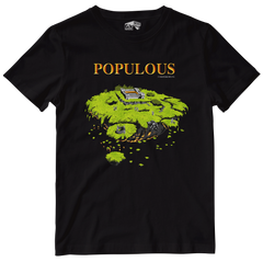 Populous Officially Licensed Tee by Seven Squared with all profits to Safe In Our World