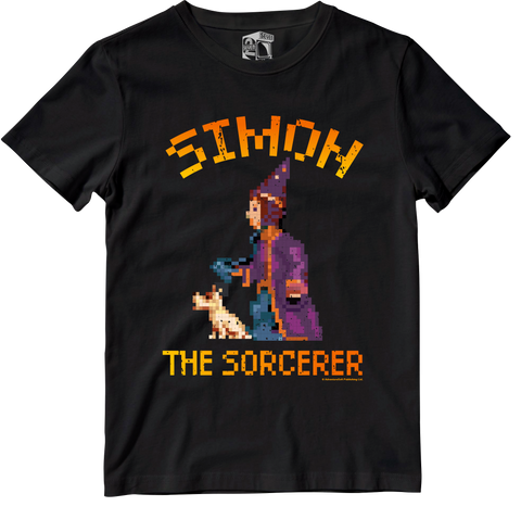 Simon The Sorcerer Officially Licensed Tee by Seven Squared #KeepingTheGameAlive