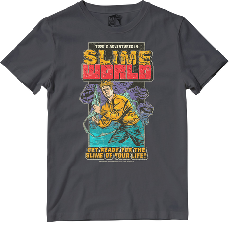 Todd's Adventures in Slime World Officially Licensed Tee by Seven Squared #KeepingTheGameAlive