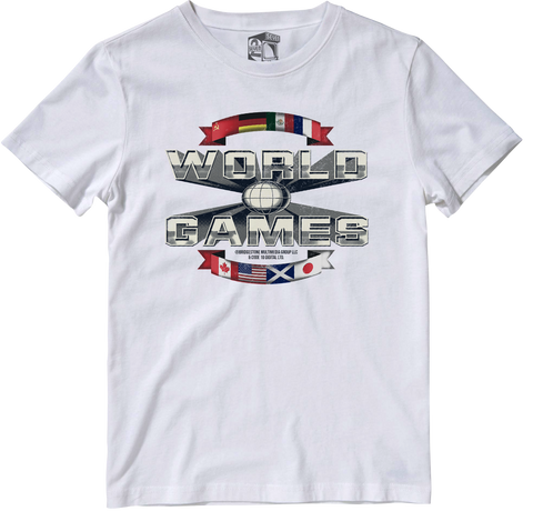 World Games Officially Licensed Tee by Seven Squared #KeepingTheGameAlive