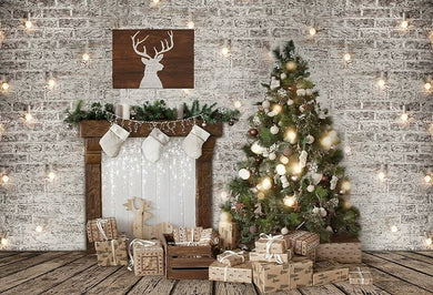 Christmas Tree Background Christmas Backdrop
