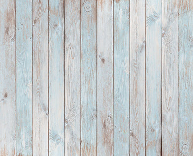 White cyan wood background