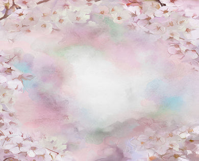 Powder flower background