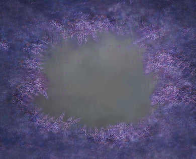 Purple flower abstract background