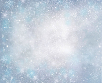 Snowflake Background Bokeh Backdrop