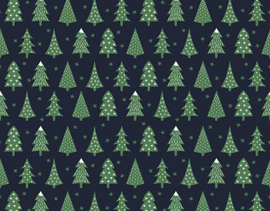 Pine Tree Backdrop Christmas Background