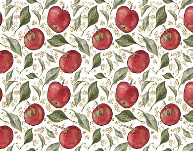 Fruit Apple Pattern Backdrop Oil Painting Background