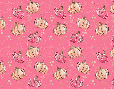 Pink background pumpkin background