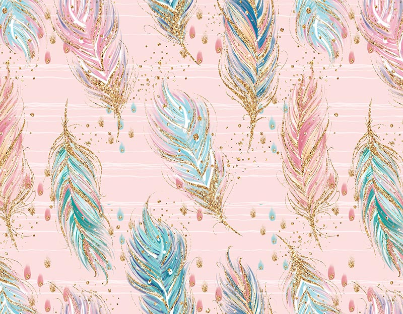Feather background pink background
