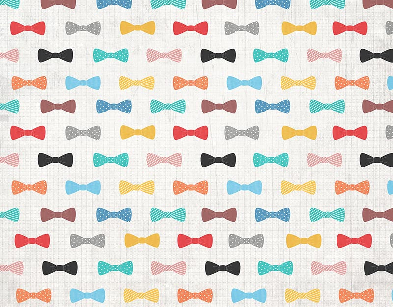 Seven color bow background