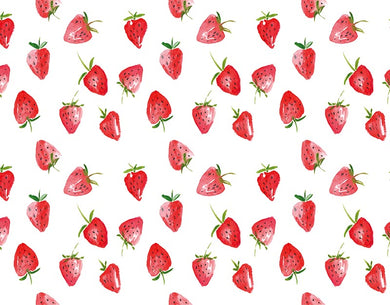 Strawberry background child photography