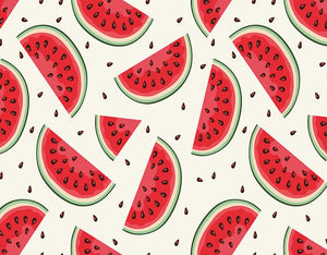Watermelon background child photography