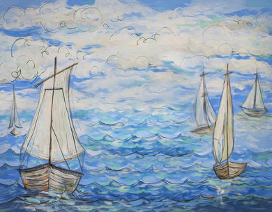 Nautical Background Fine Art Backdrop