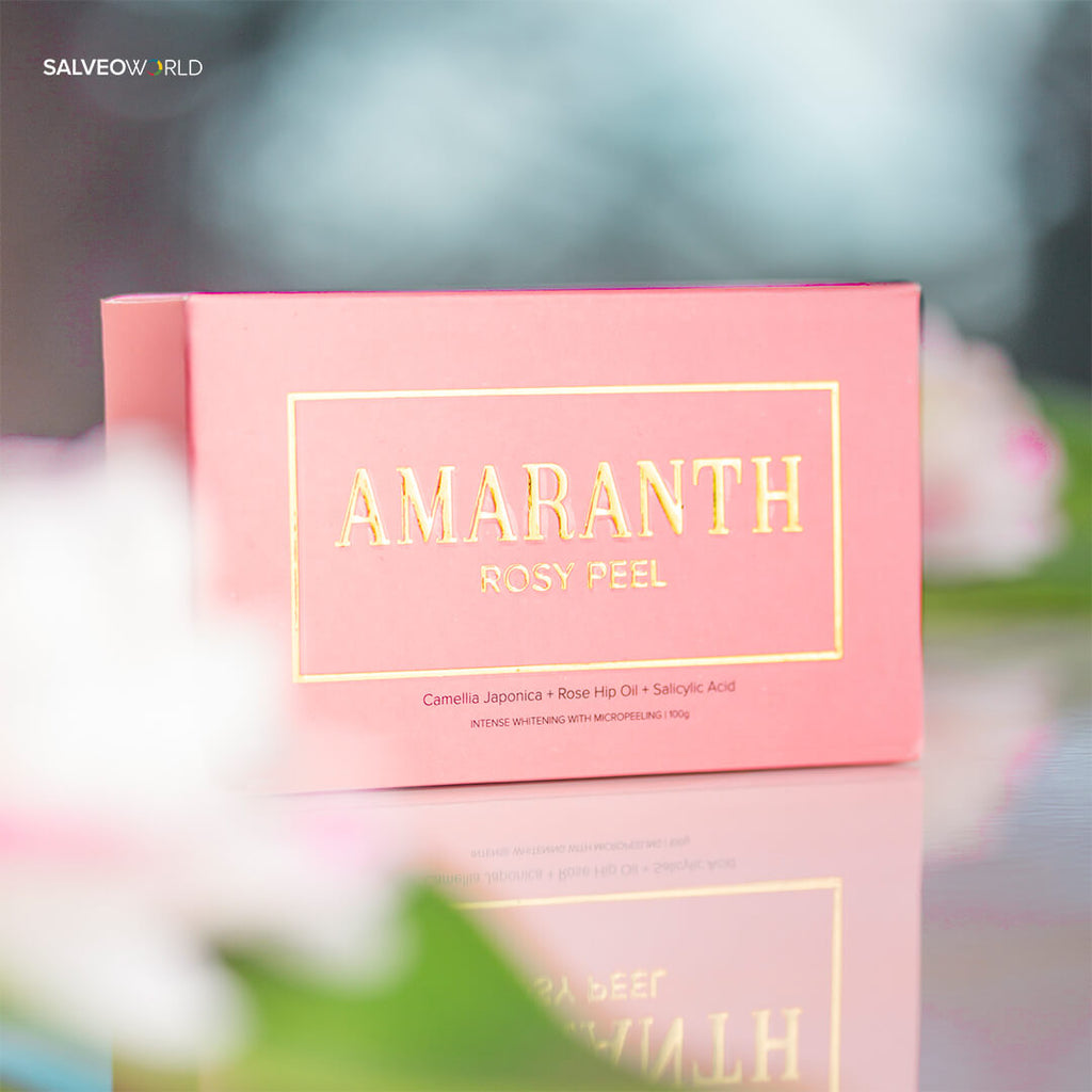 Amaranth Rosy Peel - Intense Whitening Soap