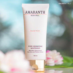 Amaranth Rosy Peel Facial Wash